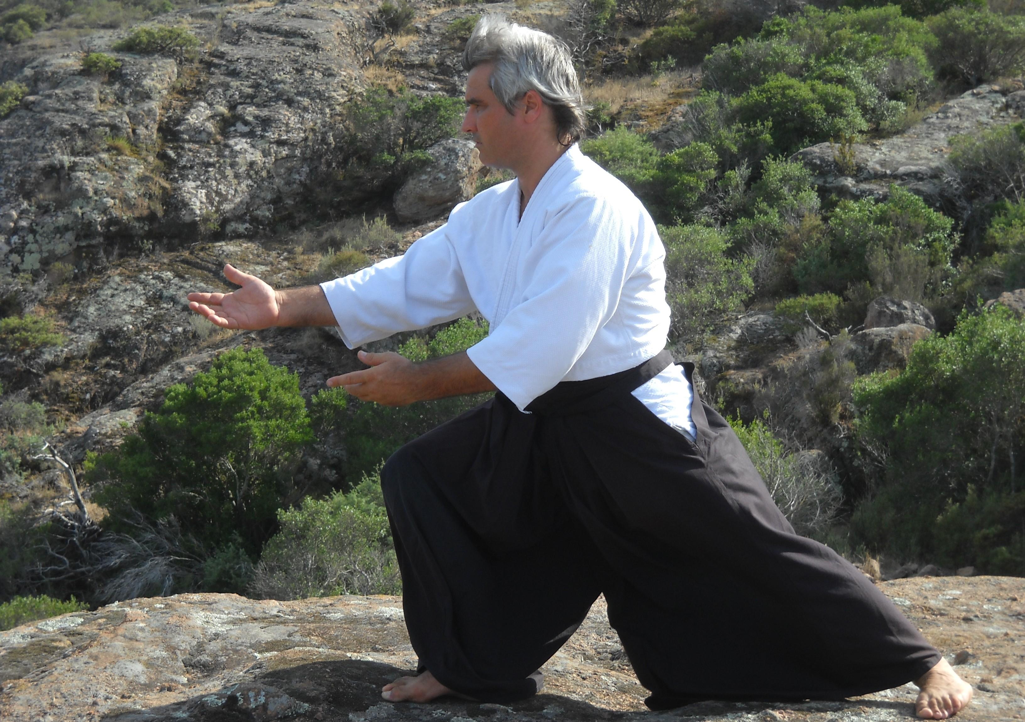 Presentació del Dojo. Marcel Almacelles i Gort es el fundador i director delDojo Umiten, on es practica classes deAikido, Karate...